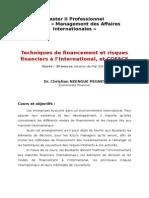 Tech Fin Et Risk Et COFACE