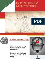 Human Psychology and Architecture Deepa