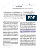 The Impact of Partner Support in the Treatment of Postpartum Depression (2000)
