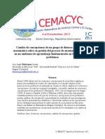 Bohórquez - 2013 - Cambio de concepciones de un grupo de futuros profesores de matemática sobre su gestión del proceso de enseñanza.pdf