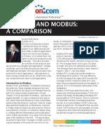 Comparatie Modbus vs Profibus