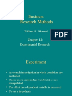12. Experimental Research