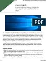 Windows 10 the Smart Person's Guide - TechRepublic
