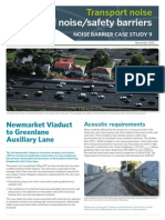 NZTA Noise Barrier Case Study 9