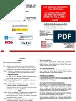 Programa Jornada Profesores 2014