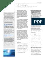 Sas Visual Analytics Factsheet
