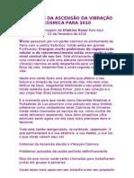 SINTOMAS DA ASCENSÃO DA VIBRAÇÃO CÓSMICA - Shekina Rose=