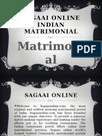 Sagaai Online Indian Matrimonial Site