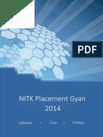 NITK Placement Gyan 2014