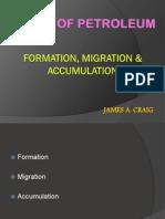 Ptroleum accummulation