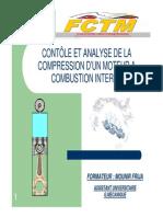 Controle Et Analyse de La Compression Moteur
