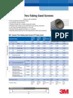 PI Ceramic Thru-tubing Sand Screens e