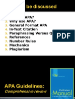 Apa Comprehensive
