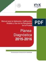 Manual Prueba Planea Diagnóstica 2015
