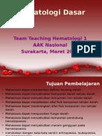 Hematologi Sekilas-kuliah 2