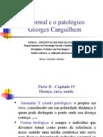 O Normal e o Patológico – Georges Canguilhem
