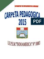 Carpeta Pedagógica 2015 (Reparado)