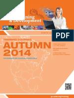 Training Development Courses Catalog