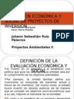 Evaluación Económica y Social de Proyectos de Inversión