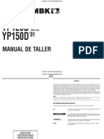 Manual Taller Majesty 2001