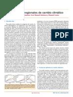 Escenarios Regionales de Cambio Climático