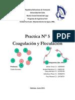 Coagulación y Floculación