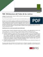 IAS 36 Deterioro Del Valor de Los Activos