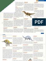 Diccionario de Los Dinosaurios