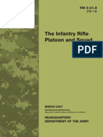 FM 3 21 Infantry Rifle Platoon and Squad