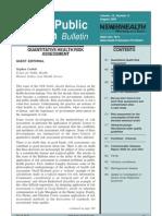 Quantitative Health Risk Assessment - NSWPHB - 2003