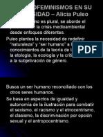 Los Ecofeminismos en Su Diversidad – Alicia Puleo