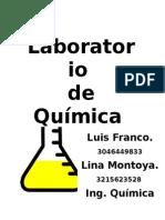 Clasificcion Del Material de Vidrio Del Laboratorio de Quimica Analitica
