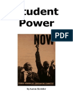 Student Power by Aaron Kreider