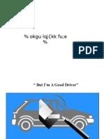 88754 Hindi Work Instruction Training Material Driving Safety Hindi