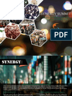 Synergy Summit 2015 Brochure