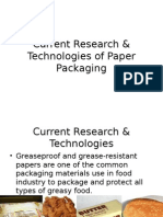 Latest Research & Technologies of Paper Packaging