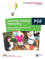 Learning Playing Interacting