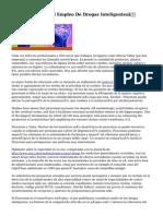 """La Tecnología Y El Empleo De Drogas Inteligentes"""""""