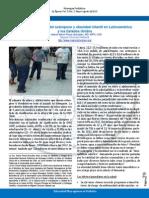 Una Visión General Del Sobrepeso y Obesidad Infantil en Latino América y Los Estados Unidos