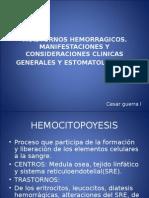 TRASTORNOS HEMORRAGICOS