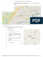 Da 21 Rue Notre Dame de Lorette a Arc de Triomphe - Google Maps