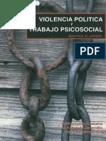 VIOLENCIA POLITICA y Trabajo Psicosocial