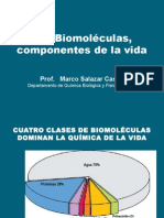Biomoléculas - Componentes de La Vida