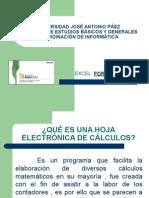 Introduccion a Excel y Formulas