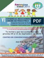 CONGRESOS 2015 MANAGUA