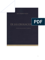 Ramos Pazos, Las Obligaciones
