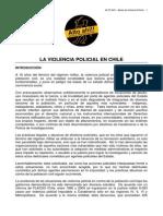 Articulo Londres La Violencia Policial en Chile