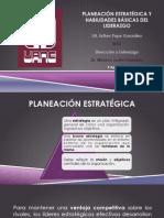 Planeación Estratégica & Habilidades del Liderazgo