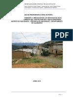 Pip de agua potable de la Localidad Nueva Esperanza