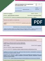 Diseño Didácticos de Situaciones de Aprendizaje Por Competencias (Proyecto 1) Versión 2